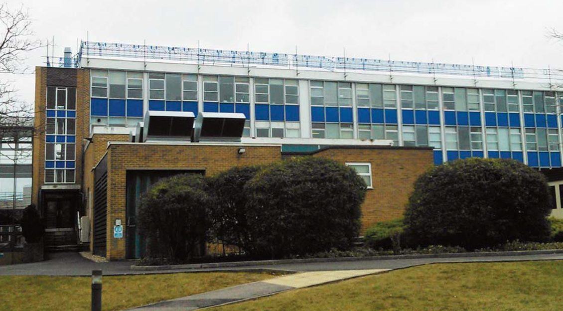STFC Rutherford Appleton Laboratory, R1 Building