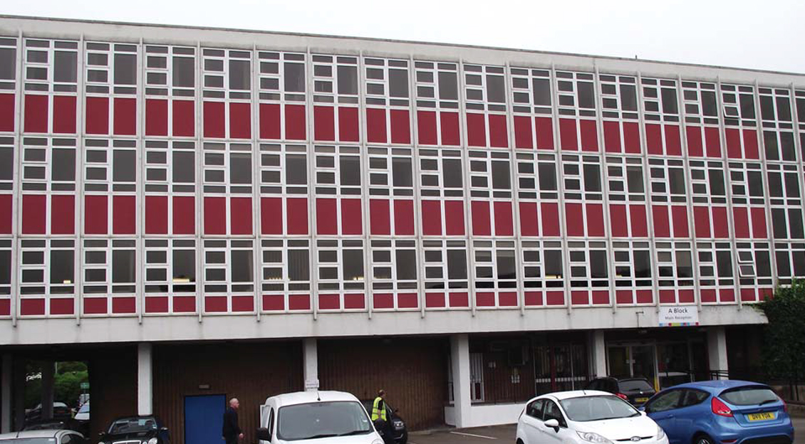 Stoke on Trent College, 'A' and 'B' Blocks
