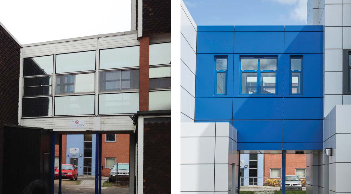 Stratford Upon Avon College A+B Blocks