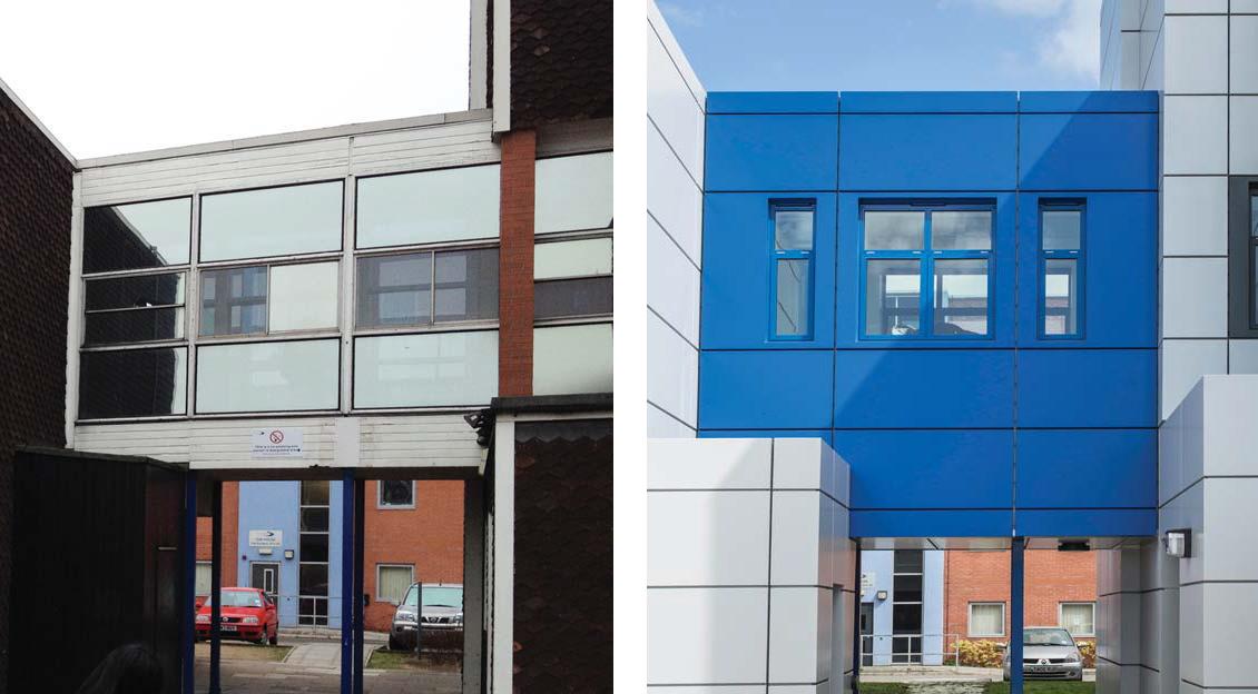 Stratford Upon Avon College A+B Blocks