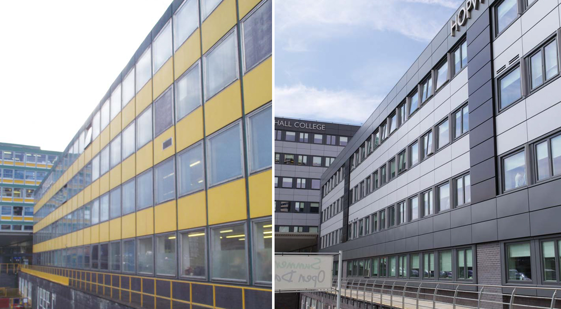 Hopwood Hall College Rochdale Campus Aluminium