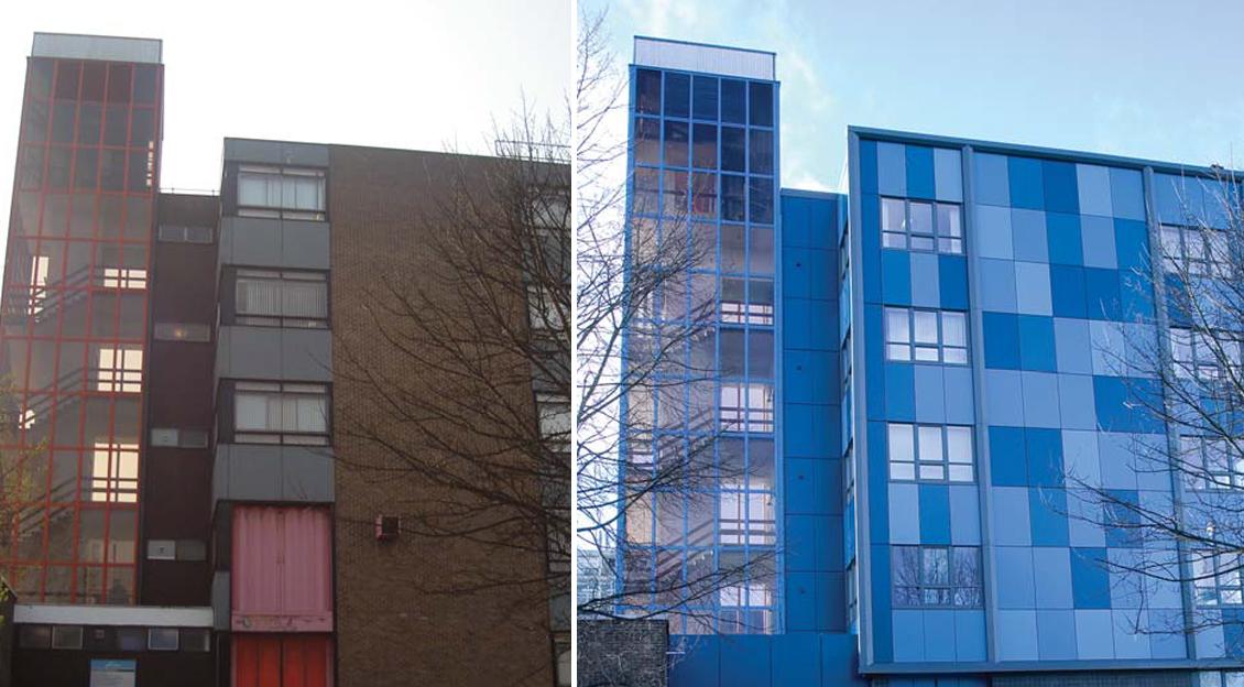 University of Northumbria, Ellison E Block