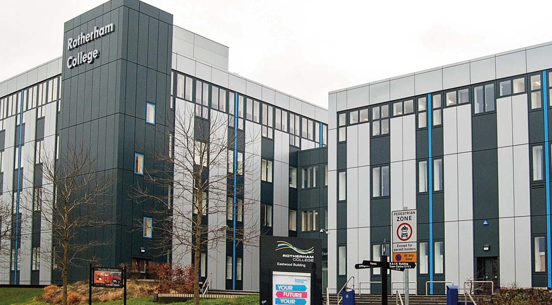 Rotherham College,<br>Eastwood Building