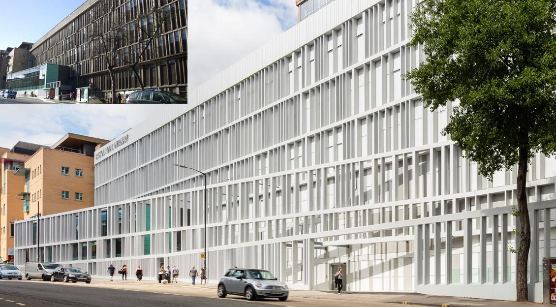 Bristol Royal Infirmary,<br>Queens Building