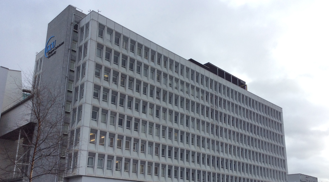 Glasgow Caledonian University, <br>Hamish Wood Building