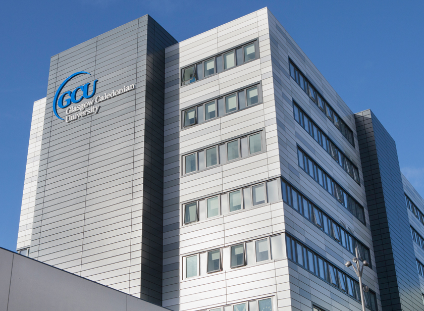 Glasgow Caledonian University, <br>Hamish Wood Building