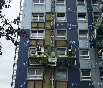 d+b facades make Clements Court, Hounslow, fire safe in 10 days