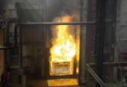 br135 fire test video