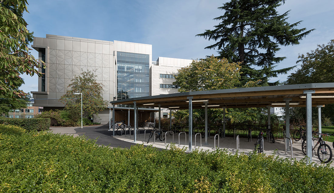 The Library Building<br>University of Reading
