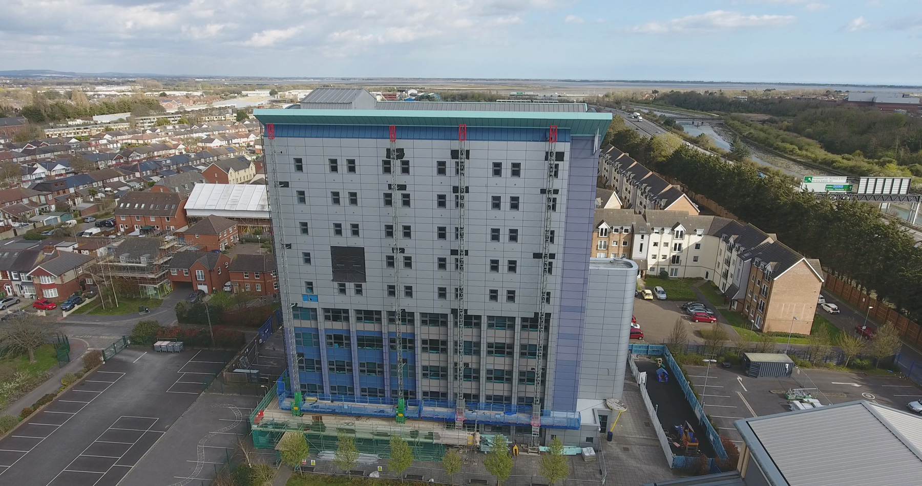 Highbury College Tower<br>Portsmouth