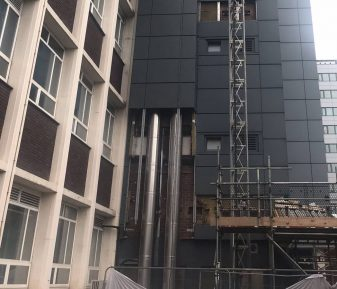 Facade Modifications for Liverpool John Moores University